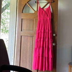 Hot Pink Sumner dress